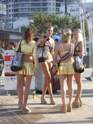 Meter Maids Surfers Paradise