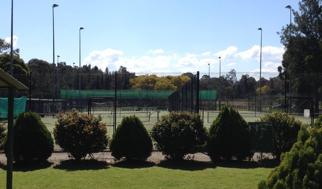 Milperra Sports Centre tennis courts