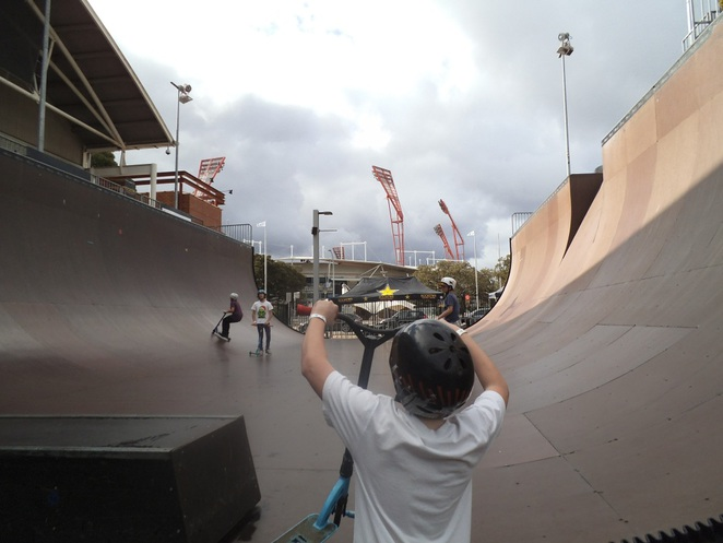 monster skate park, teen activities, skateboarding, skate park, bike riding