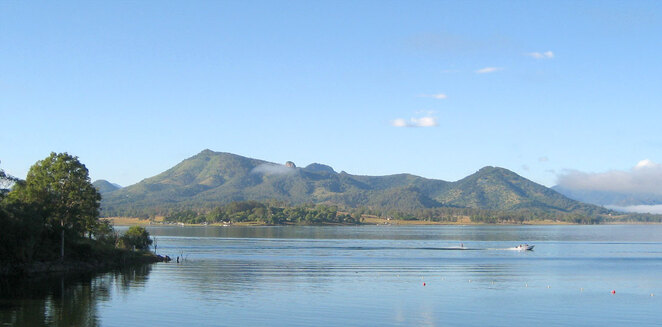 Moogerah is a great place for water skiing, fishing, kayaking and swimming