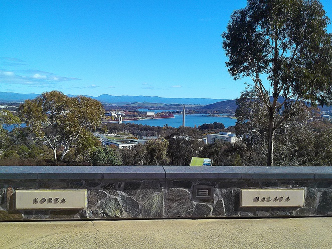 mount pleasant lookout, canberra, ACT, lookouts, views, duntroon, ACT,