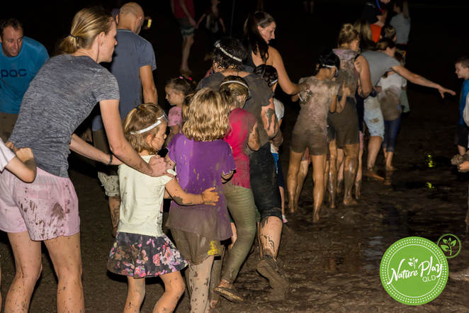mud, muddy, play, festival, dance, disco, nature, Underwood, kids