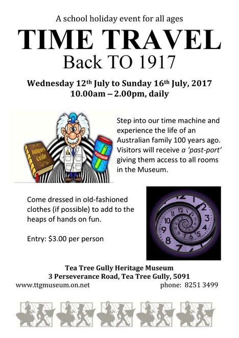 museum, history, tea tree gully