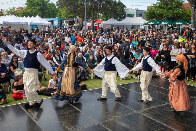 oakleigh glendi festival 2019, community event, fun things to do, oakleigh glendi, fruitbowl productions, warrawee park oakleigh, cultural event, free event, music, performing arts, performances, activities, entertainment, food and drink, the greek orthodox communitye of oakleigh, district and oakleigh grammar, multiculturism, loukoumade contest, greek donut eating competition, cooking demonstrations, masterchef presenters, greek festival, city of monash, victoria state government