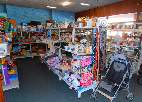 You can easily spend a couple of hours trawling through the treasure at Father Riley's Op Shop.