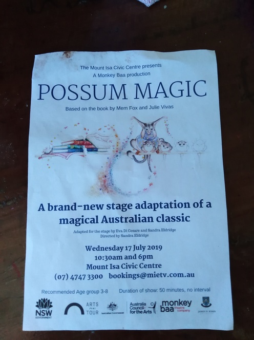 Possum Magic, book, children book, performance, theater, performance, on stage, live, Monkey Baa Theater