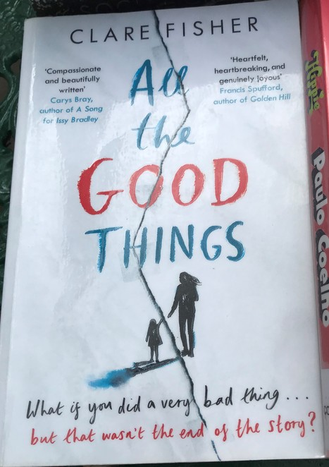 reading, summer, books, bookworm, all the good things, clare fisher, good read