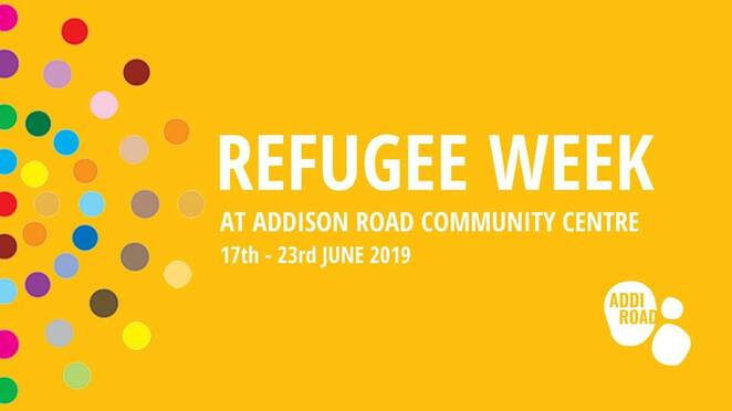refugee week 2019, addison road community centre, community event, refugee stories, australian refugee community, people in need, charity, helping hands, marrickville nsw