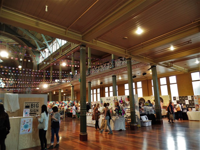 royal exhibition building interior