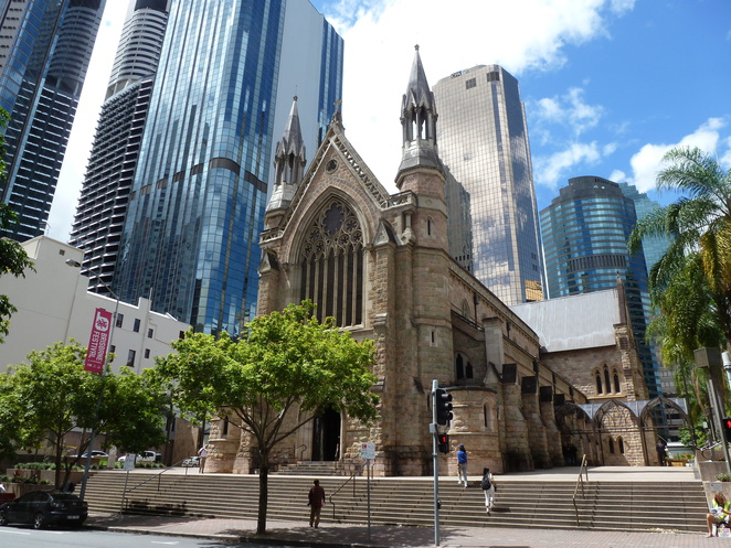 St Stephens Cathedral,Brisbane
