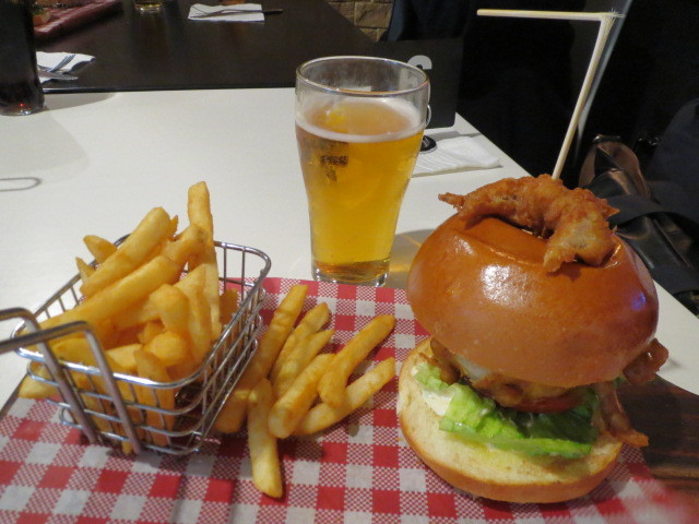 The Bunker Sports Bar and Grill, Soft Shell Crab Burger, Adelaide
