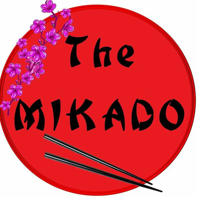 The Mikado, Gilbert & Sullivan Society, Paul Treasure, Dolphin Theatre, Mark Thompson, Marli van der Bijl, Brigitte Hauser, Theodore Murphy-Jelley