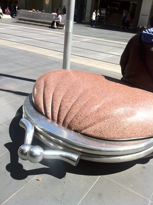 the public purse, melbournes best public art sculpture