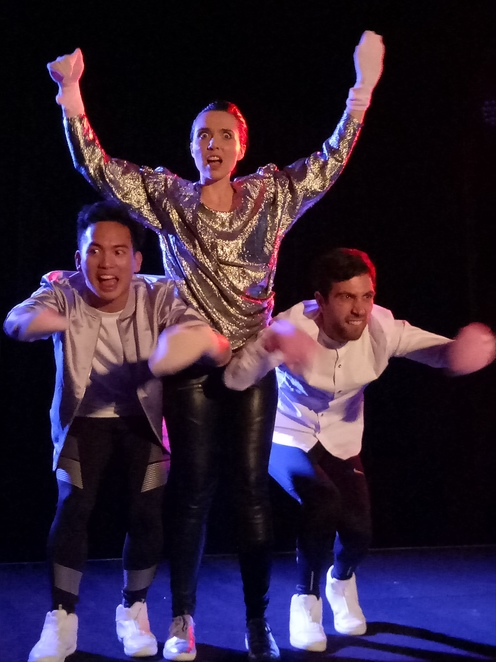 The yonder, play, comedy, performance, sci fi, melbourne fringe festival