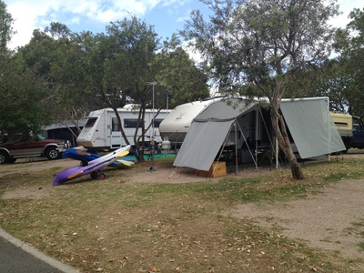 There are hundreds of both powered and unpowered camp sites