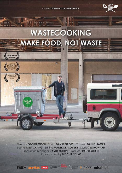 transitions film festival 2017, wastecooking, make food not waste, documentary, david grob, creative meals, fight food waste, consumption, creative solutions, save the planet, save the world, environmental, sustainability, ethical, recipes, schnippeldisko, mother nature, edible delectables, culinary travel guide, collected food, garbage dumpster, mobile stove, wastemobile, self experiment, inspirational, transformation, creative dishes, david gros, georg misch, community event, fun things to do, film festival, film review, movie review