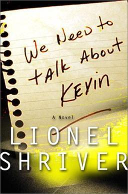 we need to talk about kevin, novel, cover