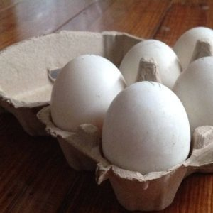 Yummy Fresh Duck Eggs for those allergic to chicken eggs