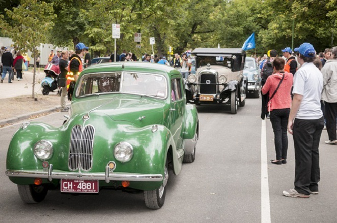 australia day racv picnic & federation car display