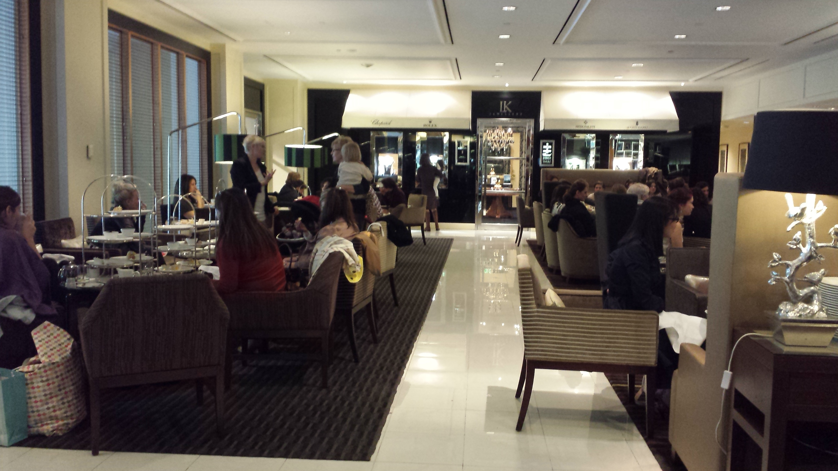 the gallery tea lounge sheraton on the park sydney. Black Bedroom Furniture Sets. Home Design Ideas