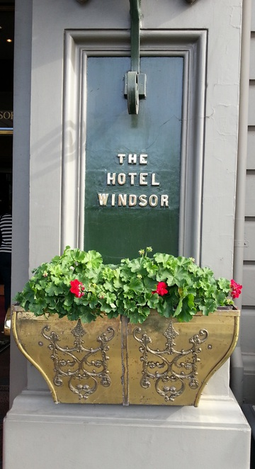 Entrance to the Windsor