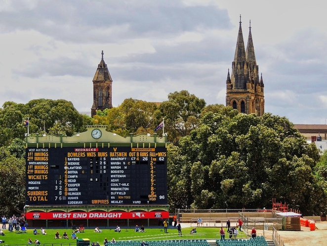 adelaide, adelaide oval, adelaide casino, cricket, redevelopment, grandstand, media, football, scoreboard, cathedral