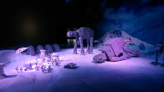Amazing Star Wars displays