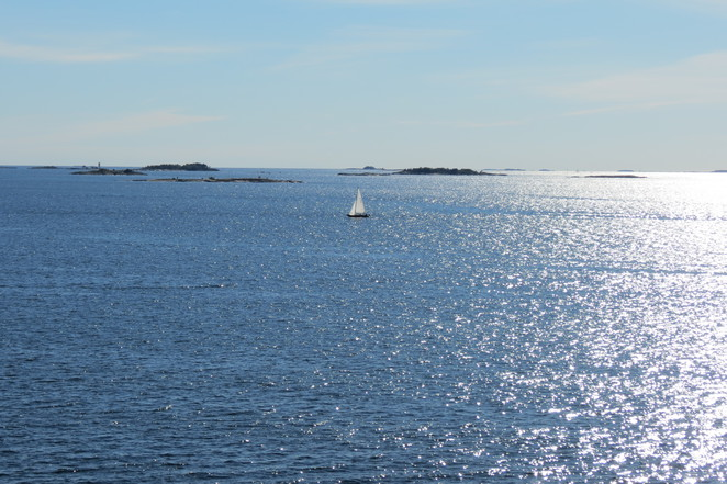 Baltic Sea from Suomenlinna