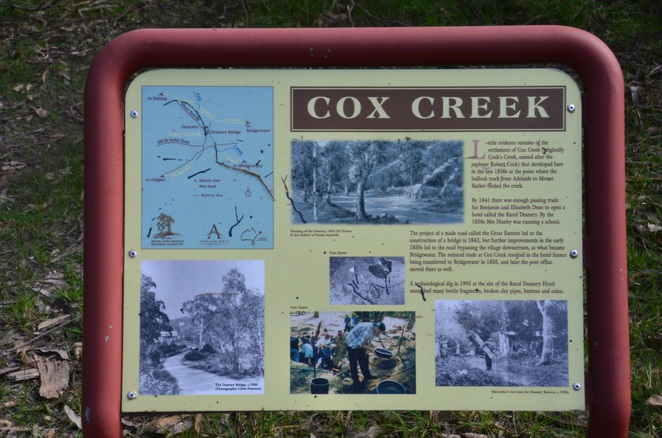 Bridgewater, Cox Creek, Ghost town