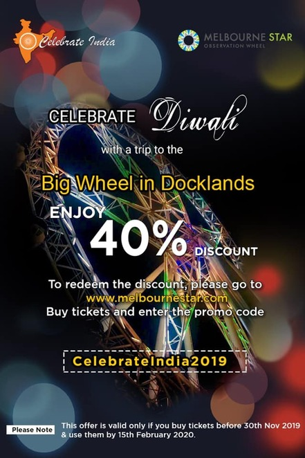 celebrate india, diwali 2019, federation square, community event, cultural event, fun things to do, bollywood, free family friendly event, festival of lights, entertainment, activities, cultural performances, market stalls, indian food, competitions, dance for diwali, light for diwali