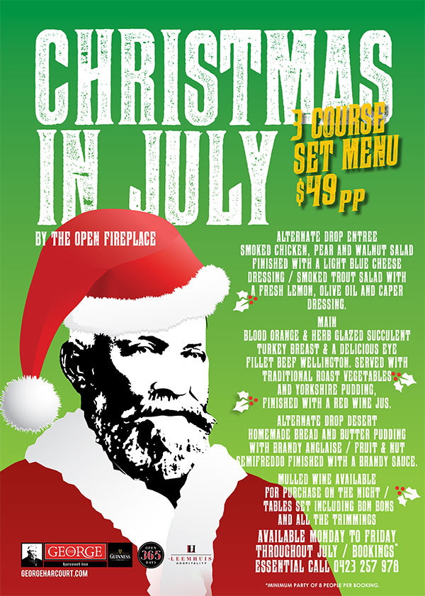 Christmas In July Events In Canberra 2016