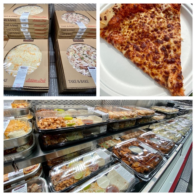 The food all seems to be bigger and better at Costco Wholesale!