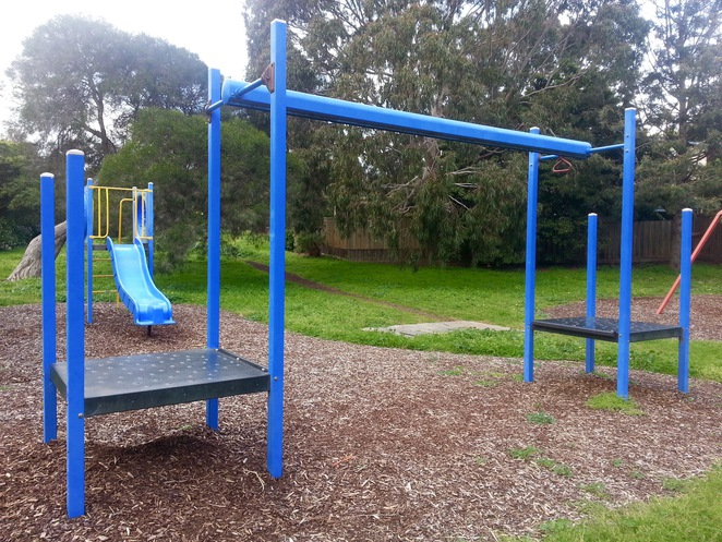 Cuthbertson Reserve, Ocean Grove, Bellarine, Playground, flying fox
