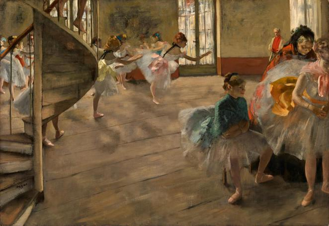 degas a new vision the rehearsal