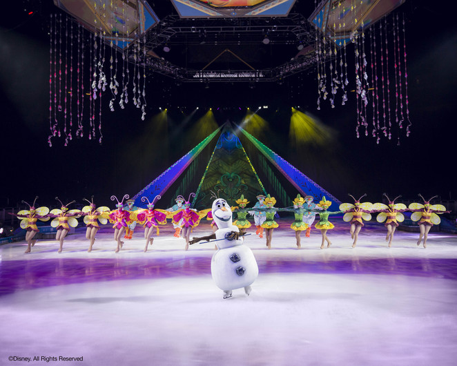 disney on ice presents frozen olaf