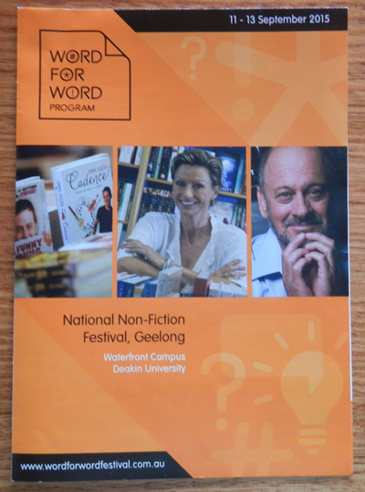 Word For Word National Non-Fiction Festival 2015