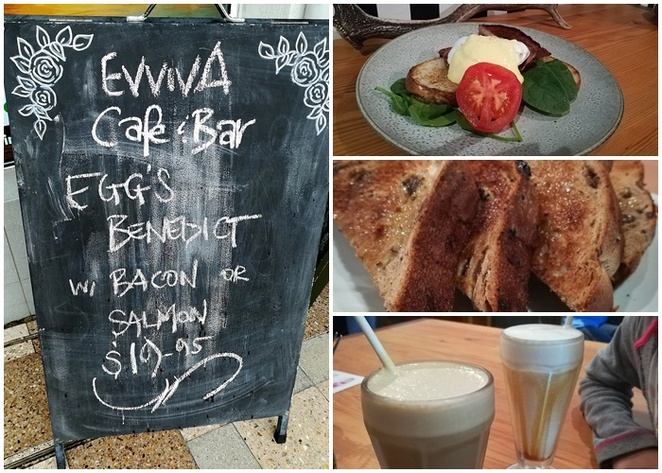 Evviva's cafe and bar, nelson bay, port stephens, cafes, breakfast, lunch, dinner, eggs benedict, granola, coffee, best coffee, lunch, dinner, bar, drinks, functions, art classes, NSW,