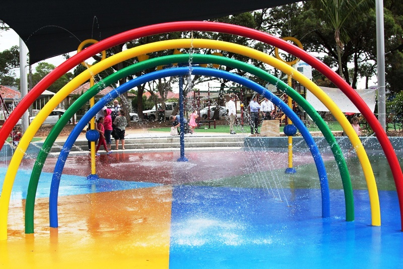 Granvile Park Water Play Merrylands