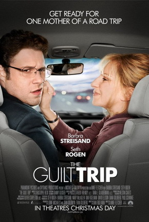 guilt trip, movie, film, poster, barbara streissand, seth rogan,