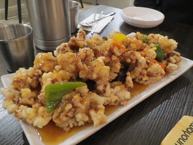 Han Cook Korean Restaurant, Sweet and Sour Pork, Adelaide