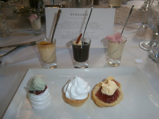 High Tea Mini Desserts