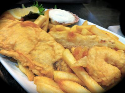 Hunky Dory, Fish and Chips