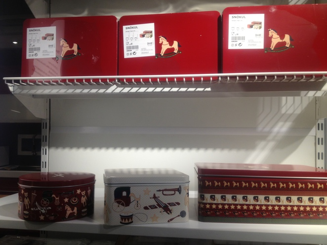 ikea christmas tins