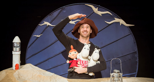 Moomins come to life at Spare Parts puppet theatre