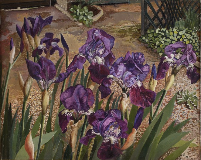 Stanley Spencer flower and garden paintings