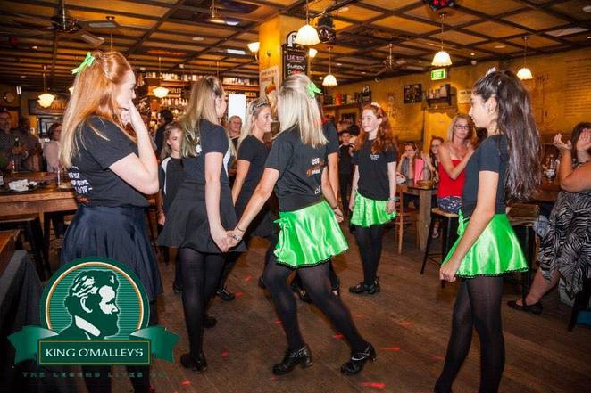 king o malleys, canberra, city walk, guiness, irsih pubs, saint patricks day, canberra city centre, ACT,