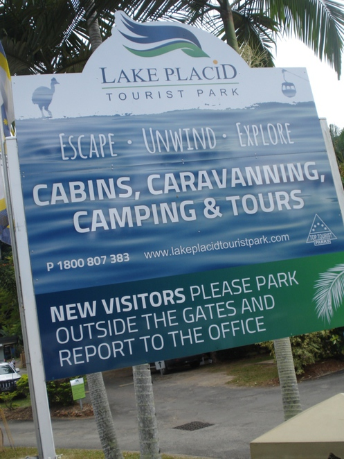 lake placid tourist park, best cairns caravan parks, places to stay near skyrail