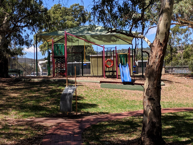 nightingale reserve, magill, playground, park