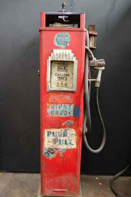 Old Petrol Pump - Sydney Bus Museum