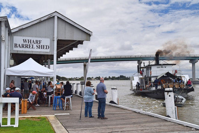 PS Oscar W, River Cruises, Paddle Steamer Oscar, Goolwa Wharf, Things to do at Goolwa, Hector's Cafe, 90 Mile Wines, PS Federal, Wooden Boat Festival, Goolwa Regatta, Hindmarsh Island, Goolwa Barrage
